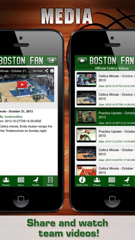 Boston Basketball App: News, Info, Pics, Videos