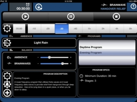 BrainWave Hangover Relief - Binaural Brainwave Entrainment and Soothing Ambience