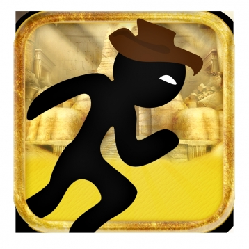 Brave Stickman Gold Chase