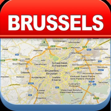 Brussels offline map city metro airport travel app review ios brussels offline map city metro airport free download ipad ipad mini iphone gumiabroncs Image collections