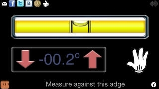 !Bubble and spirit level free tool with ruler