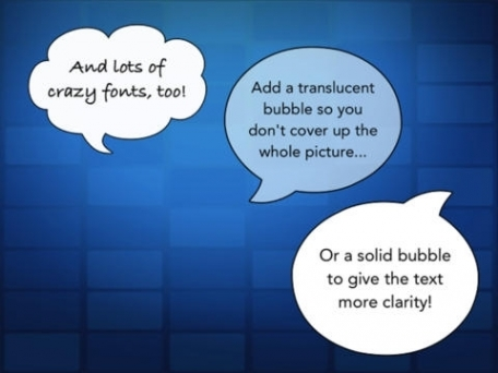 Bubble - Speech Bubbles & Photo Editing Comic Maker adds Text Captions to Pictures for Facebook, Twitter & Instagram
