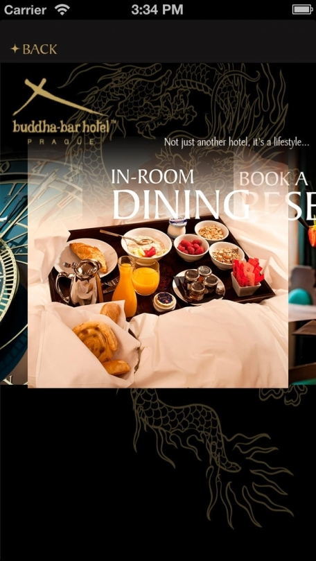 Buddha-Bar Hotel Prague for iPhone
