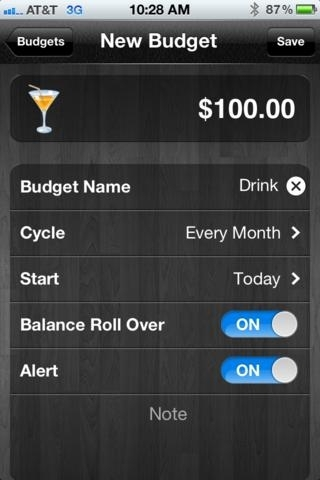 Budget Alert - Income & Expense with cloud sync!