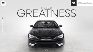 Build Greatness: The 2015 Chrysler 200