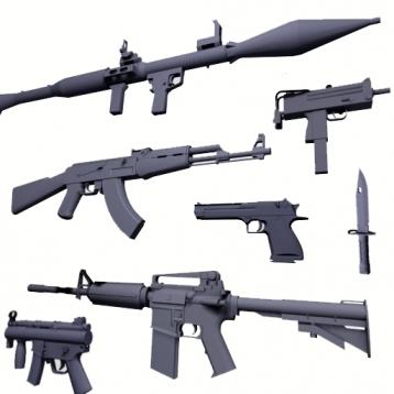 Builder - Gun & Weapon
