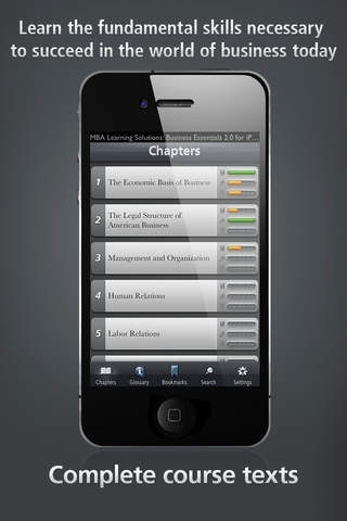 Business Concepts and Tools - MBA Learning Solutions for iPhone