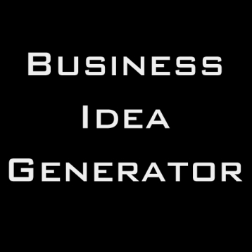 Business Idea Generator :  an innovation tool to help you create and explore concepts for new product or service businesses in technology