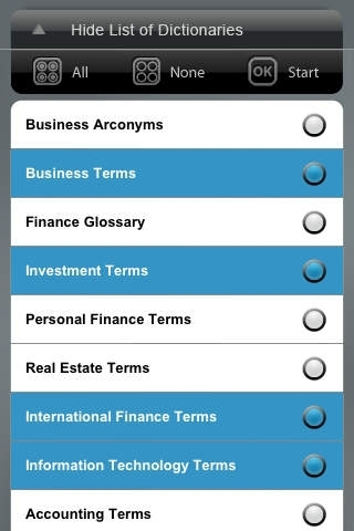 Business Reference Library - All dictionary, terms, definitions & glossary for learning MBA