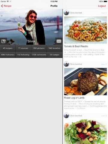 Allthecooks Recipes! The social recipe app.