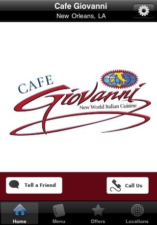 Cafe Giovanni Restaurant: New World Italian Cuisine in New Orleans