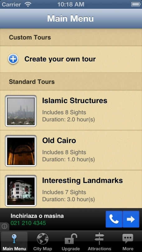 Cairo Map and Walks