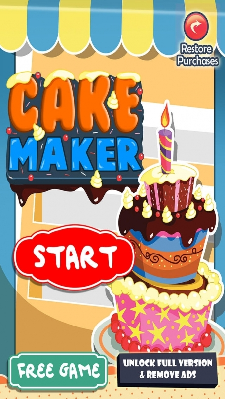 Cake Maker My Food Cooking Fun For Everyone Kids Meal Games Hd