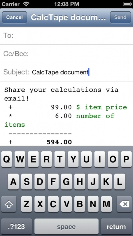 CalcTape Calculator