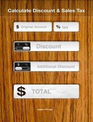 Calculate Discount & Sales Tax