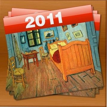 Calendar 2011 Art-Paintings