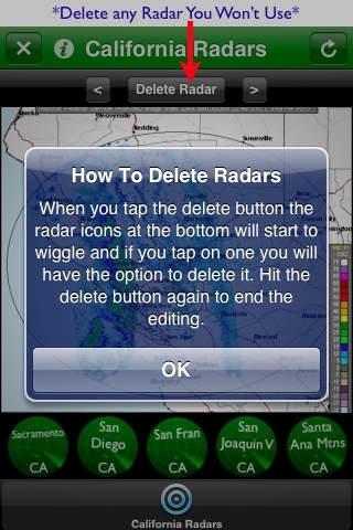 California Radars
