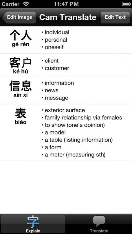 Cam Translate China