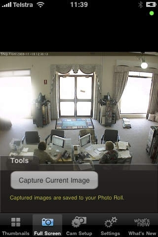 Cam Viewer for SecuritySpy