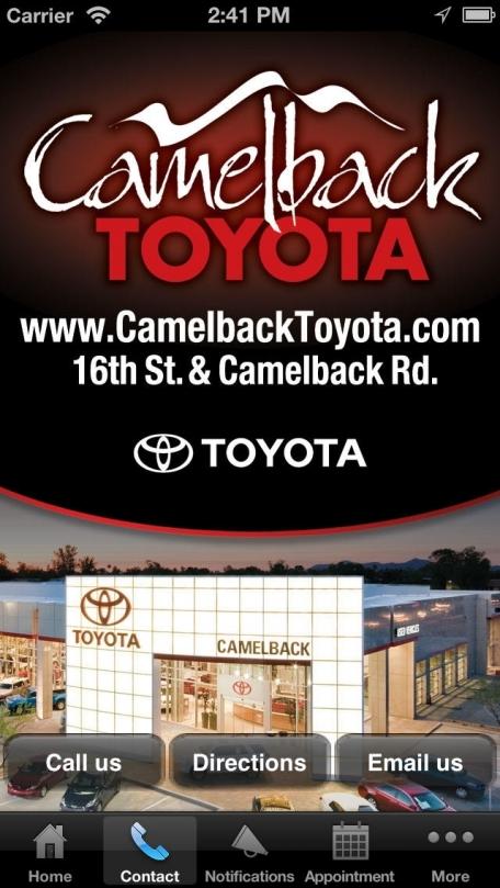 Camelback Toyota.