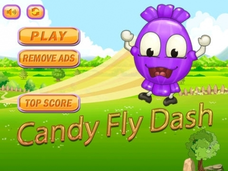 Candy Fly Dash - Swipe to Race at Sonic Speed or Get Crush