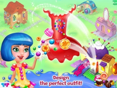 Candy Girl Resort: Sweet Spa & Fashion Designer
