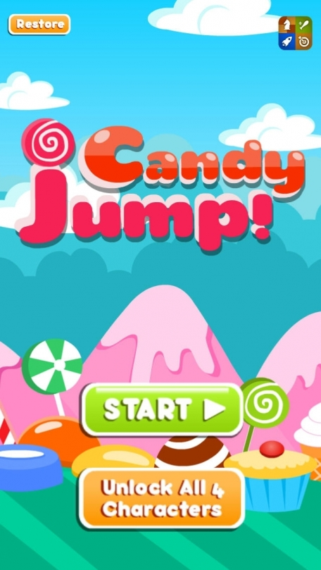happy jump candy