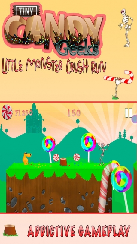 Candy Monster Runner - The Wild Sweet Sugar Run Continues