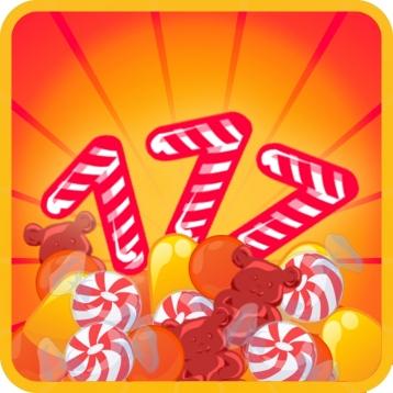 Candy Slot Machine - Classic Vegas Casino Gambling