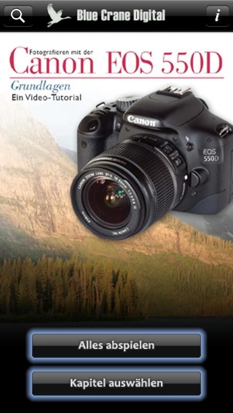 Canon 550D - Grundlagen