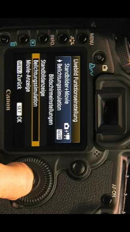 Canon 5D Mark II - Erster Teil: Grundlagen