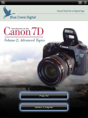 Canon 7D - Advanced Topics