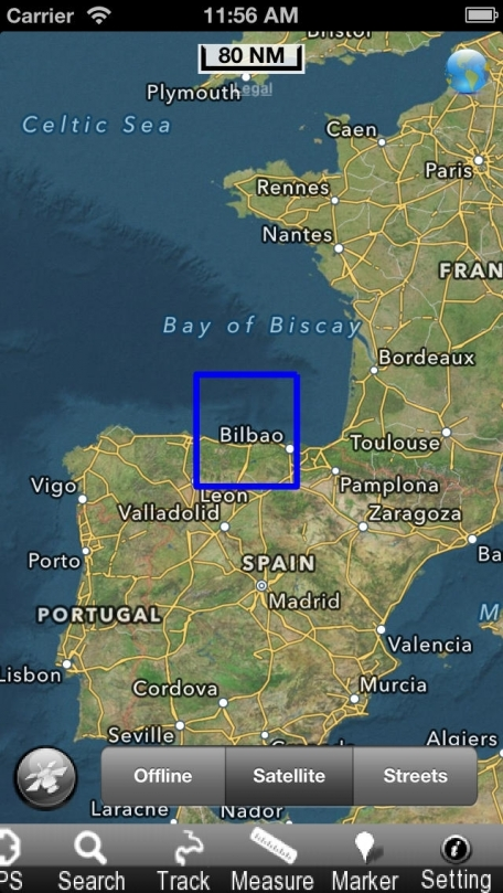 Cantabria - Nautical Chart GPS
