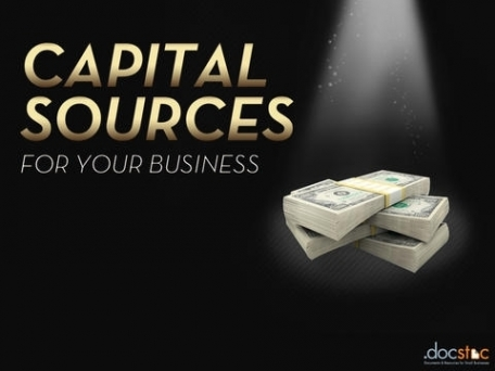 Capital Sources for Your Business
