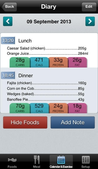 Carbs & Cals - Count your Carbs & Calories with over 3,500 Food & Drink Photos!