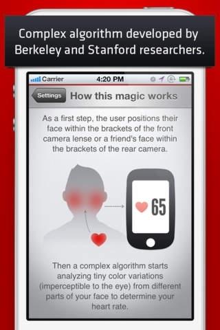 Cardio Buddy Free - Touchless Camera Heart Rate Monitor by Azumio