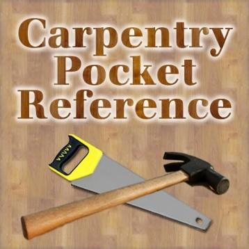 Carpentry Pocket Reference