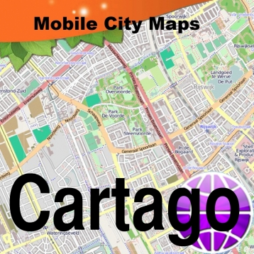 Cartago, Costa Rica, Street Map