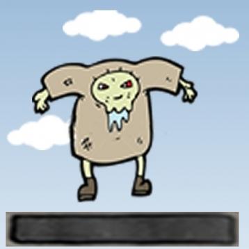 Cartoon Zombie Jump