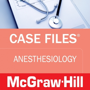 Case Files Anesthesiology (LANGE Case Files) McGraw-Hill Medical
