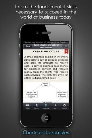 Cash Flow Management - MBA Learning Solutions for iPhone