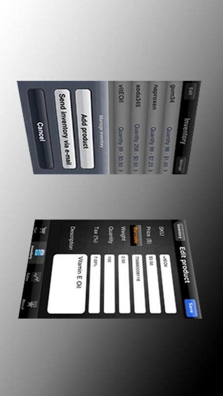 Cash Register - Barcode Reader