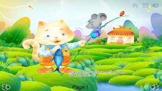 Cat and Mouse in Partnership - bedtime fairy tale Interactive Book iBigToy