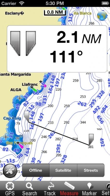 Catalonia (Spain) - Nautical Chart GPS