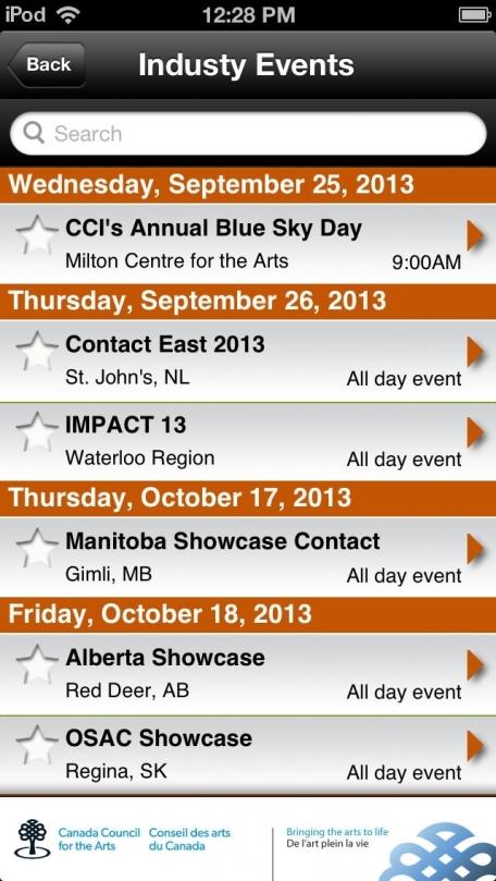 CCI Ontario Presenting Network