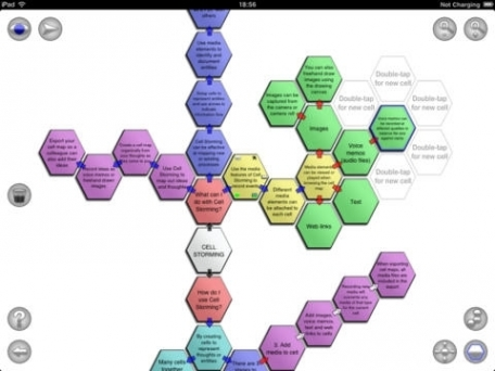 Cell Storming Pro - Media driven Mind Mapping, Brainstorming, and Idea Generation