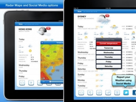 Celsius - Weather & Temperature on your Home Screen