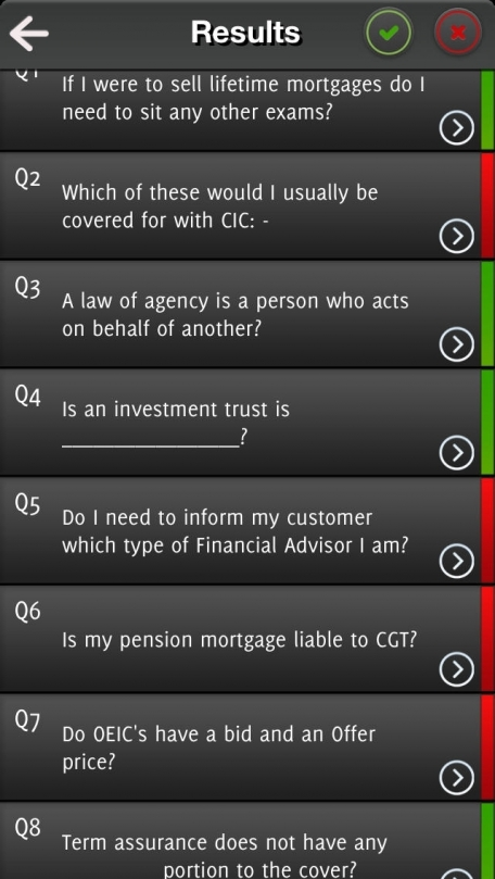 CeMAP/CeFA Exam Questions