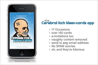 Cerebral Itch Kleen-Cards