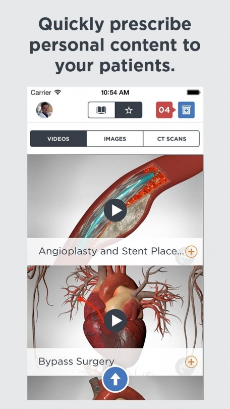 Heart Decide - Point of Care Patient Education for Healthcare Professionals by Orca Health Powered by Harvard Medical School